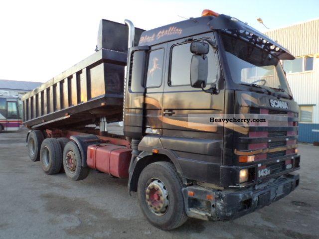 Scania R143 450 8x2 TopStreamline 1996 Tipper Truck Photo