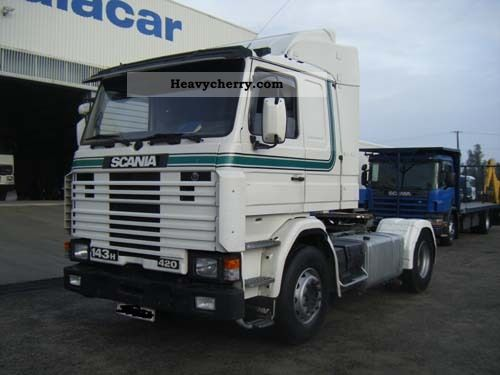 Tractor Trailer Units : Scania h standard tractor trailer unit