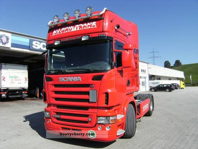 2008 Scania  R565LA4x2MNA Semi-trailer truck Standard tractor/trailer unit photo