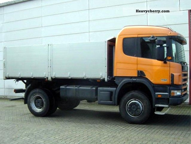 Scania 124 P 420 4x4 2000 Tipper Truck Photo And Specs