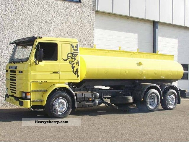 Scania 93 M 1989 Tank truck Photo and Specs
