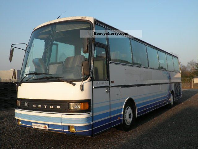 1986 Setra  215HD Coach Coaches photo