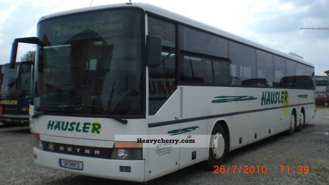 1997 Setra  S 319 UL (EURO 4 possible) AIR RETARDER Coach Cross country bus photo