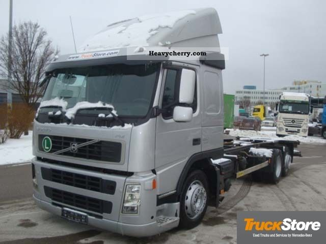 volvo volvo fm 6x2 bdf 2008 swap chassis truck photo and specs