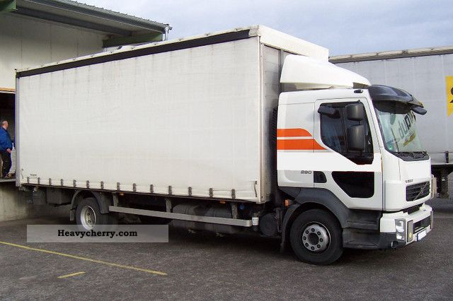 volvo fl 290 l2h1 tilt lbw trailer hitch switch 2010 stake body and tarpaulin truck photo. Black Bedroom Furniture Sets. Home Design Ideas