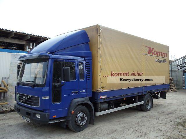 2003 Volvo  6L FL Truck over 7.5t Stake body and tarpaulin photo