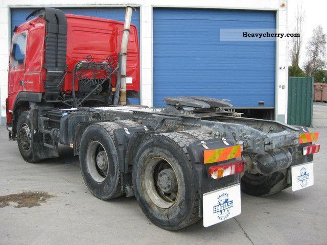 Heavy Duty Tractor Trailer : Volvo fm heavy duty standard tractor trailer