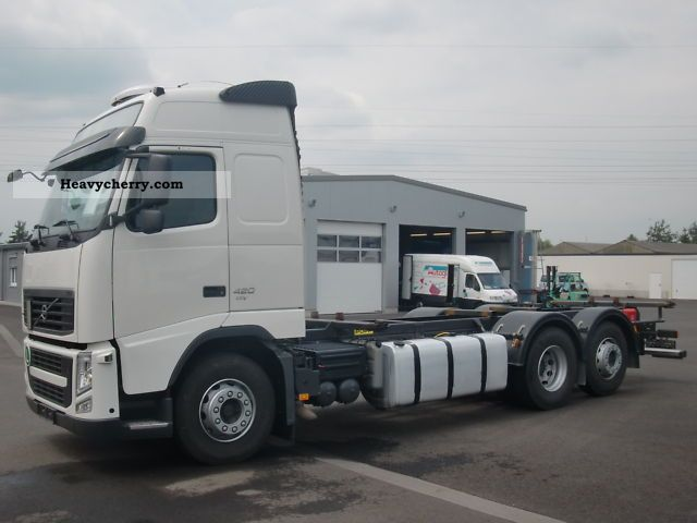 Volvo FH 420 Globetrotter EEV STATE AIR 2010 Swap chassis Truck Photo and Specs