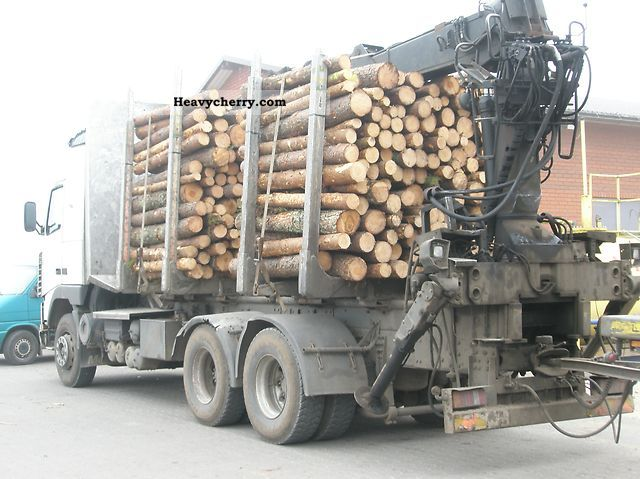 Volvo FH 16 460 6x4, HDS, crane, ExTe, Jonsered 1994 Timber carrier Truck Photo and Specs