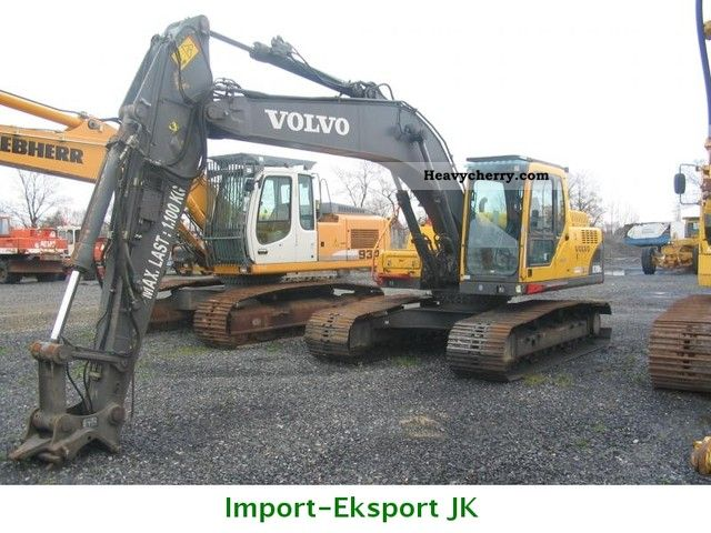 2003 Volvo  EC 210BLC Construction machine Caterpillar digger photo