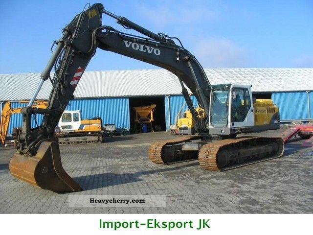 2003 Volvo  EC360 BLC Construction machine Caterpillar digger photo