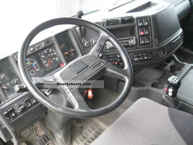 volvo fh12 420 6x4 manual hydraulic steel susspension 1994