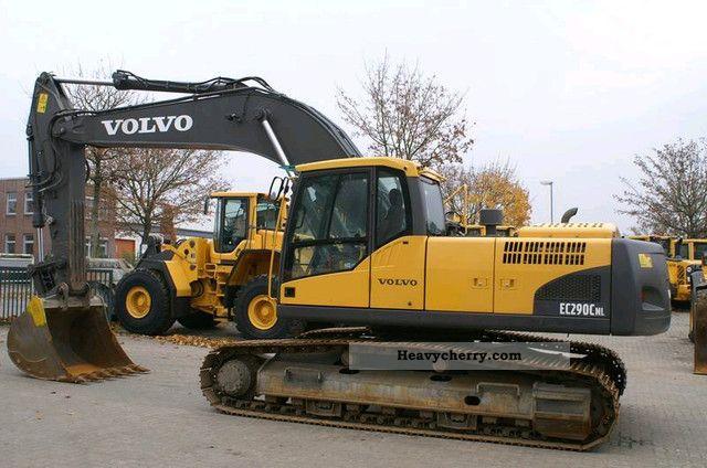 2009 Volvo  EC 290 CNL - AirCo, u% 50 Construction machine Caterpillar digger photo