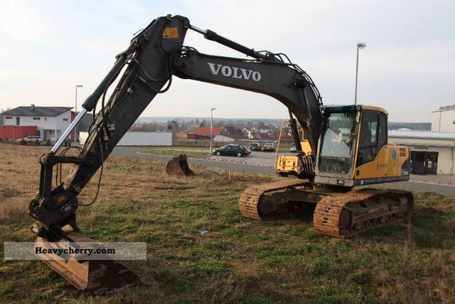 2008 Volvo  EC 180 CL Crawler Excavator bucket \u0026 bucket Construction machine Caterpillar digger photo
