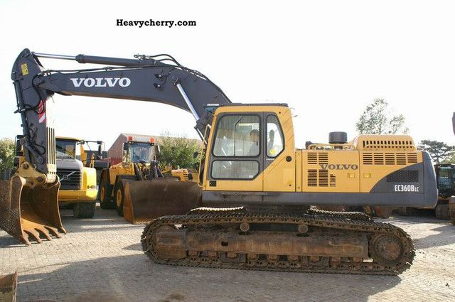 2007 Volvo  EC 360 BLC - AirCo, central lubrication Construction machine Caterpillar digger photo