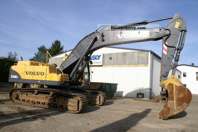 Volvo EC 360 BLC - AirCo, central lubrication 2007 Caterpillar digger Construction Equipment ...