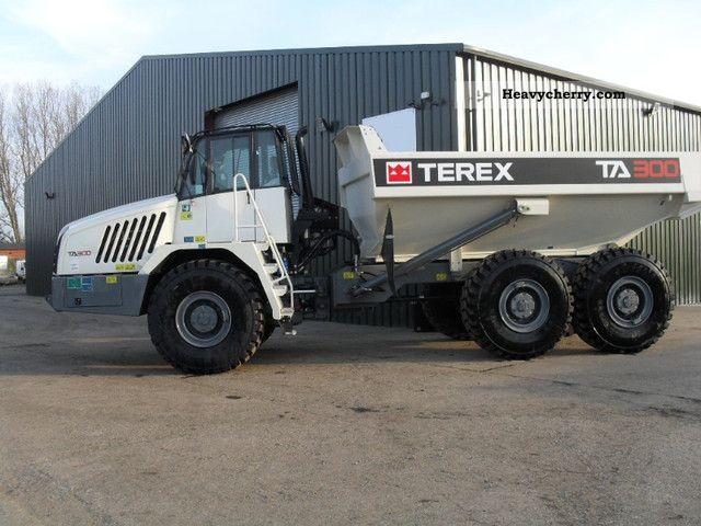 Terex trucks volvo