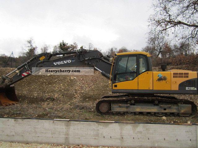 2007 Volvo  EC 210 CNL Construction machine Caterpillar digger photo