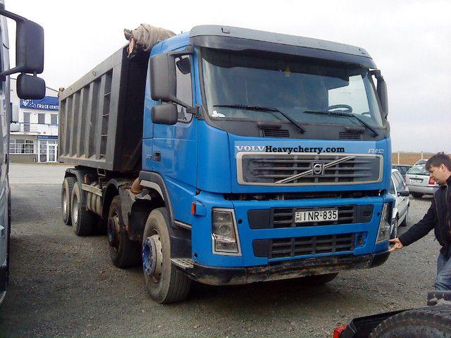 Volvo FM12 8x4 2003 Tipper Truck Photo and Specs
