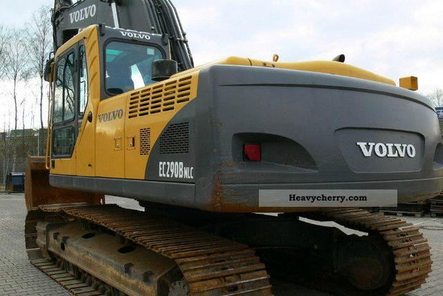 2007 Volvo  EC 290BNLC Construction machine Caterpillar digger photo