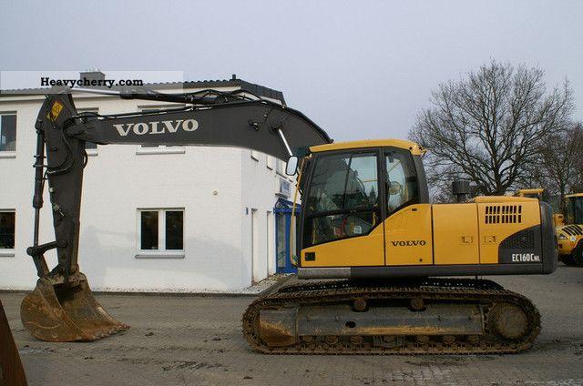 2008 Volvo  EC 160 CNL - AirCo, c 90%, 1 tsp Construction machine Caterpillar digger photo