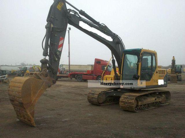 2004 Volvo  EC 140 BLC Construction machine Caterpillar digger photo