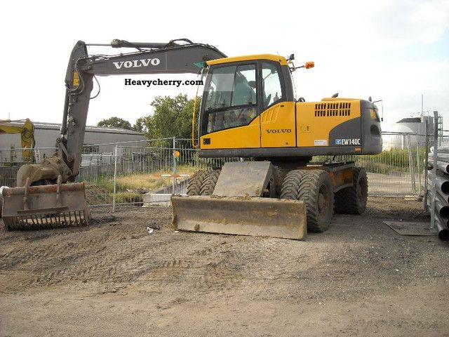 Volvo E 140 C 2009 Mobile Digger Construction Equipment