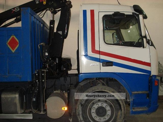 Volvo FM13.400 - 6x4. Crane HIAB XS 099-E4 \u0026 Trucks ...
