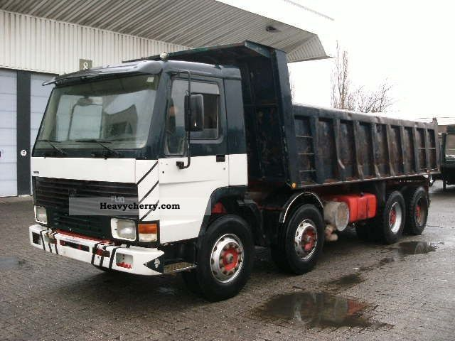 Volvo Fl10 49 8x4 1992 Tipper Truck Photo And Specs