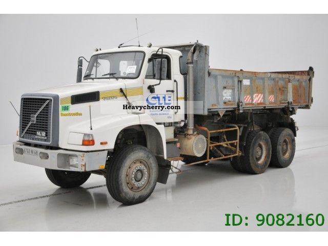 volvo nl 12 6x4 1993 tipper truck photo and specs rh heavycherry com Volvo NH12 Volvo N12 in Iran