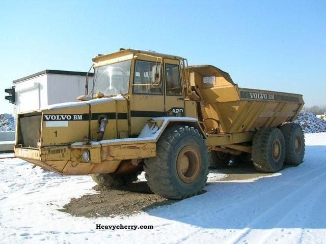 1986 Volvo  A20 Construction machine Other construction vehicles photo