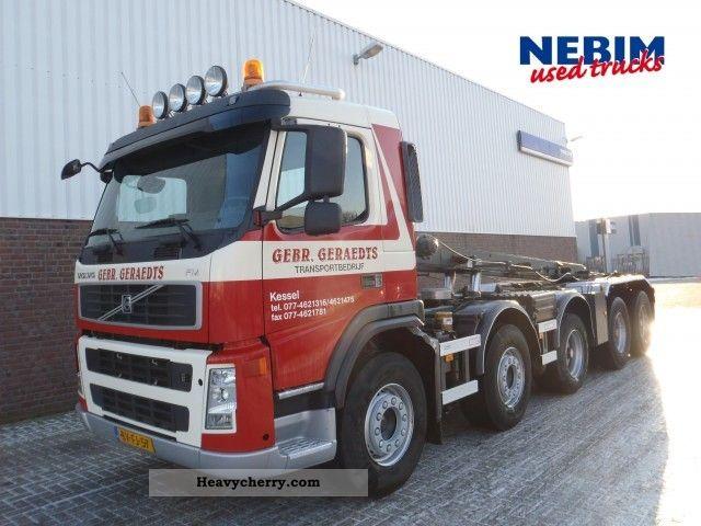 volvo fm13 440 10x4r u20ac 5 manual gearbox 2008 roll off tipper truck rh heavycherry com Volvo FM Truck Underground New Volvo Trucks FM
