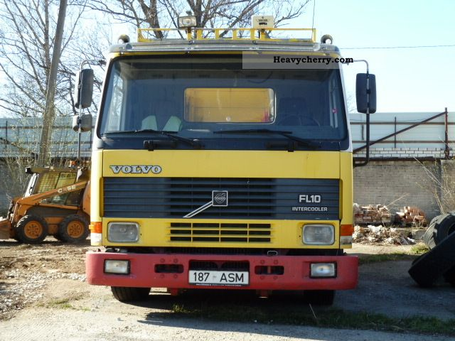 volvo fl 10 1995 standard tractor/trailer unit photo and specs volvo vnl truck wiring diagrams turn signal