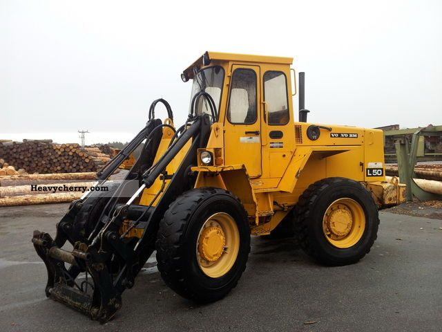 Volvo L50 1989 Wheeled Loader Construction Equipment Photo And Specs