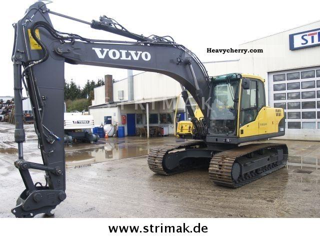 2008 Volvo  EC 160 CL Construction machine Caterpillar digger photo