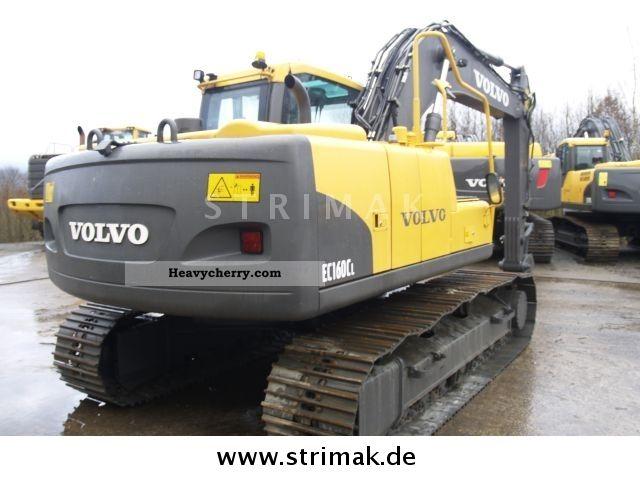 Volvo Ec 160 Cl 2008 Caterpillar Digger Construction