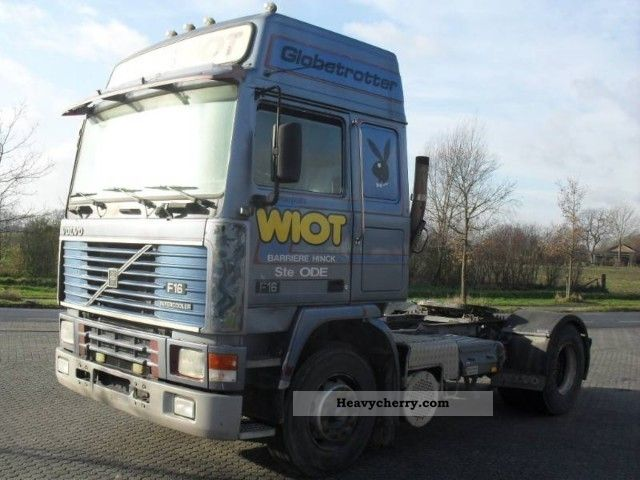 volvo   speed manual  standard tractortrailer unit photo  specs