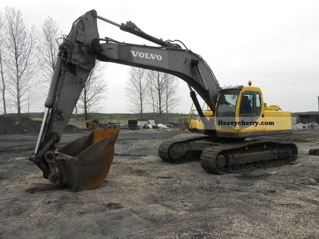 2000 Volvo  EC 290 LC Construction machine Caterpillar digger photo