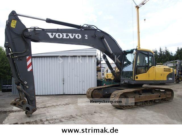 2007 Volvo  EC 290 C NL Construction machine Caterpillar digger photo