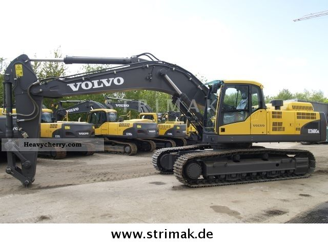 2010 Volvo  EC 360 C NL Construction machine Caterpillar digger photo