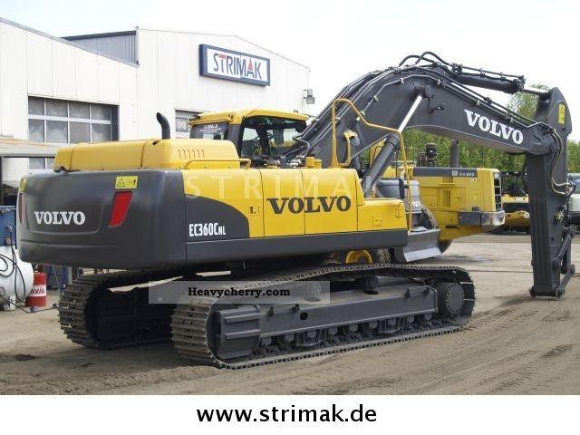 Volvo Ec 360 C Nl 2010 Caterpillar Digger Construction Equipment Photo And Specs
