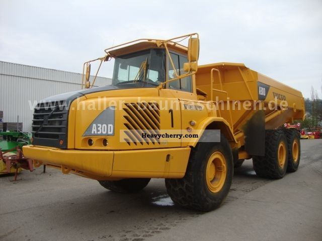 2002 Volvo  A30D A30-D body heating increases air retarde Construction machine Other construction vehicles photo