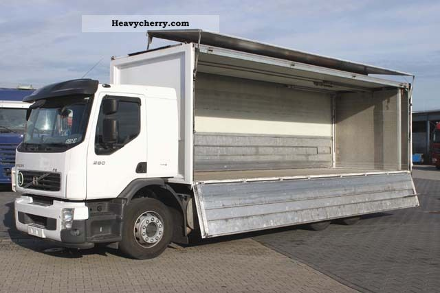 volvo fe 280 6x2, drinks, lbw 2 t, steering axle, € 5 2009