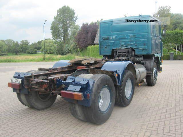 Volvo F10 6x2 truck-hydraulic 1984 Other semi-trailer ...