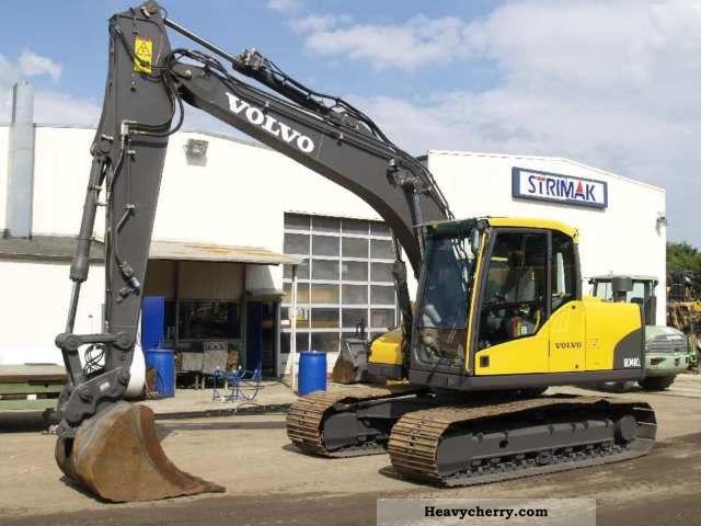 2008 Volvo  EC 140 CL Construction machine Caterpillar digger photo