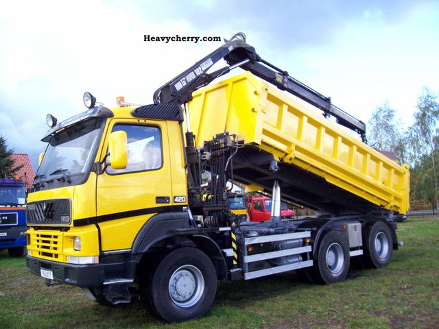 Volvo TERBERG WYWROTKA + 6X6 HDS 2001 Tipper Truck Photo and Specs