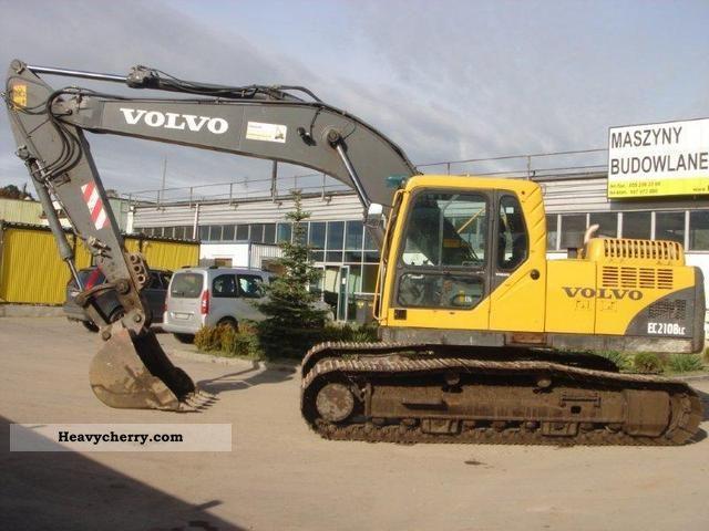2005 Volvo  EC210 BLC Construction machine Construction Equipment photo