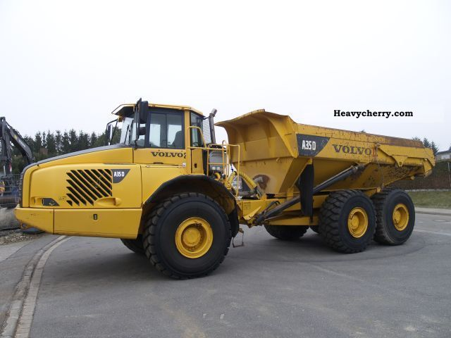 2006 Volvo  A 35 D Construction machine Other construction vehicles photo