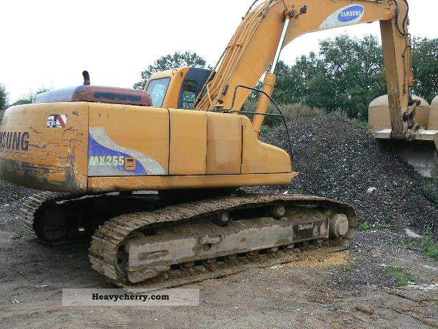 Volvo Mx 255 Ls 1997 Caterpillar Digger Construction Equipment Photo And Specs