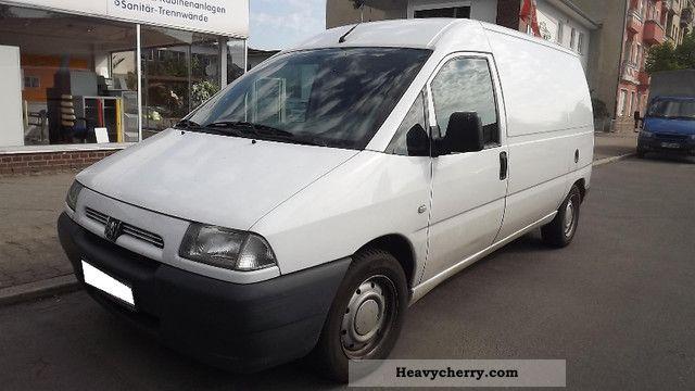 2002 Peugeot  Expert Van or truck up to 7.5t Box-type delivery van photo